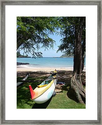 Kauai Watersports Framed Print by Dee  Savage
