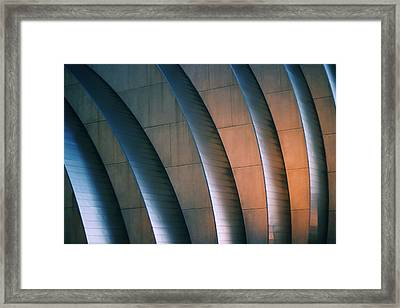 Kauffman Performing Arts Center Framed Print