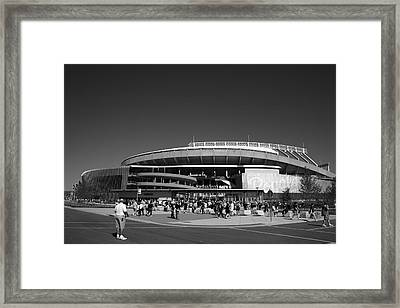 Kauffman Stadium - Kansas City Royals 2 Framed Print by Frank Romeo