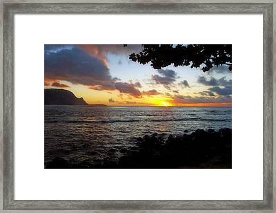 Kauii Framed Print