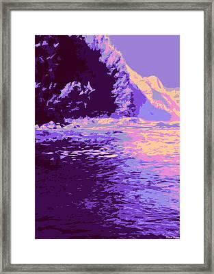 Kauluwela Moku 61 Framed Print by Kenneth Grzesik