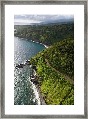 Kaumahina State Wayside Park, Hana Framed Print