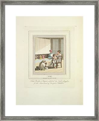 Kaut Pootlies Framed Print by British Library