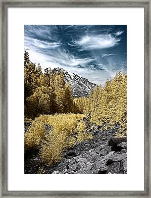 Kautz Creek Framed Print