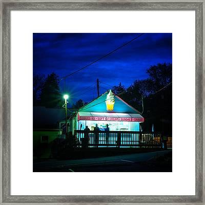 Kavern Ice Cream Catonsville Maryland Framed Print