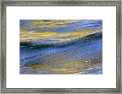 Framed Print featuring the photograph Kawaakari by Cathie Douglas