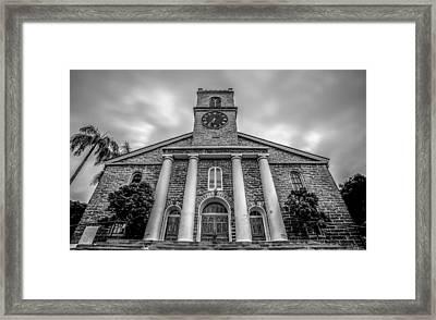 Framed Print featuring the photograph Kawaiaho Church  by Robert  Aycock