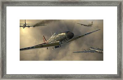 Kawasaki Ki-61-i Tei Framed Print by Robert Perry