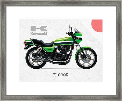 Kawasaki Z1000r 1982 Framed Print