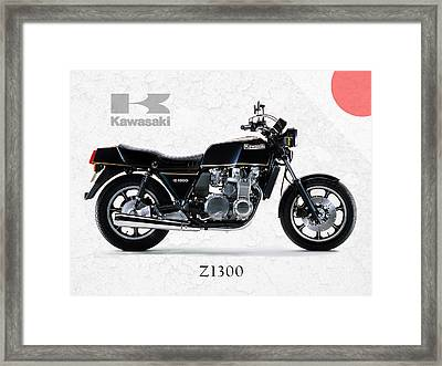 Kawasaki Z1300 Framed Print
