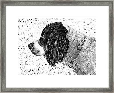 Kaya Wood Carving Filter Framed Print by Steve Harrington