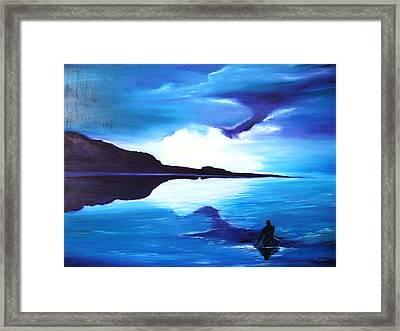 Kayak Framed Print