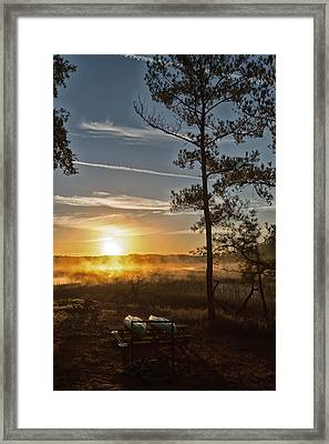 Kayak Morning Framed Print by Margaret Palmer