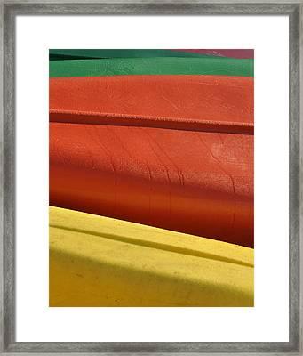 Kayak.1 Framed Print