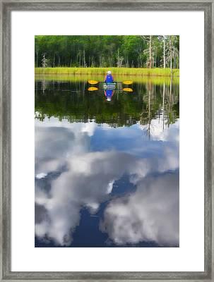 Kayaker Framed Print