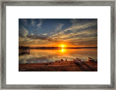 Kayaker's Dream Framed Print by Phil Mancuso