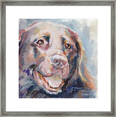 Kayla Framed Print by Kimberly Santini