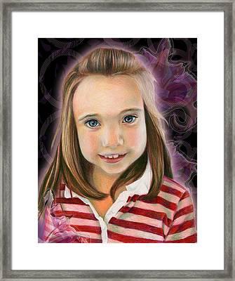 Kaylee Framed Print by Heather Raven Illingworth