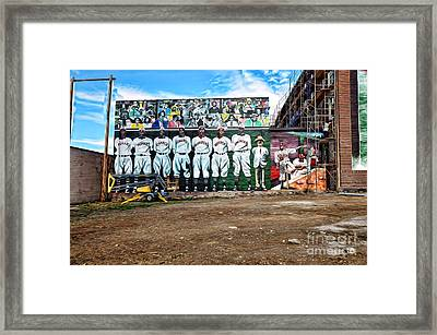 Kc Monarchs - Baseball Framed Print