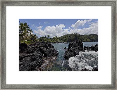 Keanae Framed Print by James Roemmling