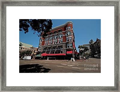 Keating Hotel Framed Print by Russell Christie