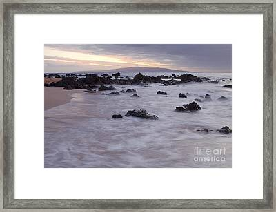 Keawakapu Tropical Nights Framed Print by Sharon Mau