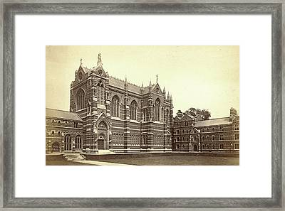Keble College Chapel, Oxford Uk, Francis Frith Framed Print by Artokoloro