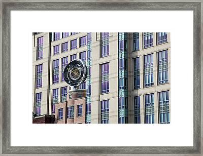 Keck Center Framed Print by Jim West