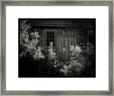 Keeler Railroad Station Framed Print