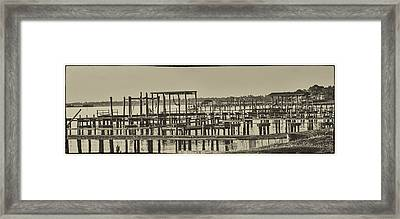 Keemah Piers Framed Print