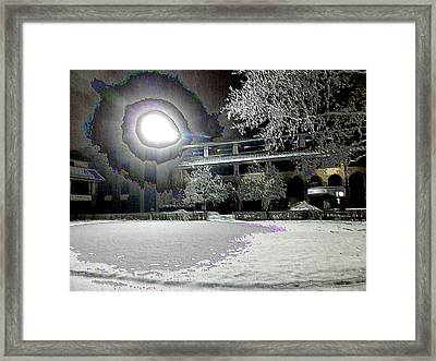 Keeneland Pre-race Area 4 Framed Print by Christopher Hignite