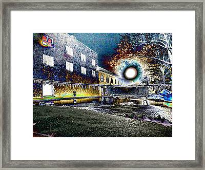 Keeneland's Winter Colors Framed Print by Christopher Hignite