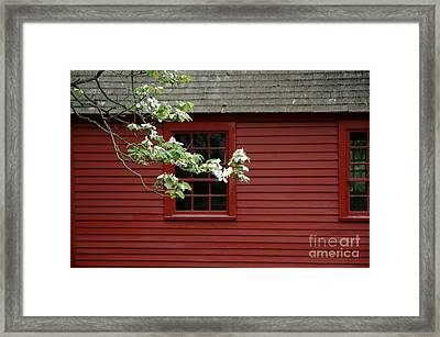 Framed Print featuring the photograph Keeney School House by Christiane Hellner-OBrien