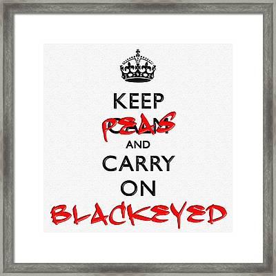 Keep Calm And Carry On 15 Framed Print
