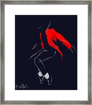 Keep Dancing Framed Print
