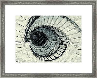 Keep On Climbing Framed Print