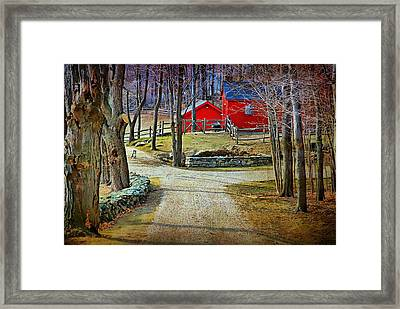 Keep Out Framed Print by Diana Angstadt