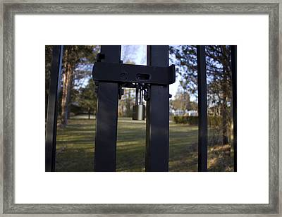 Keep Out  Framed Print by Eugene Bergeron