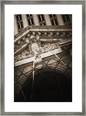 Keep Out Framed Print by Gordon Dean II