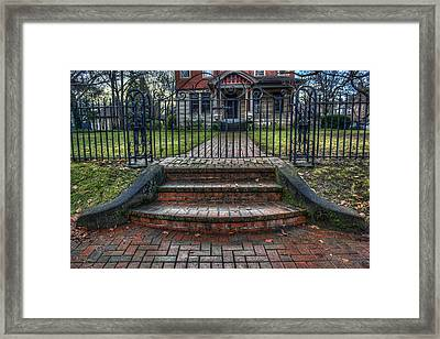 Keep Out Framed Print by Tim Buisman