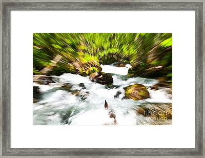 Keep Your Focus Framed Print by Chris Heitstuman