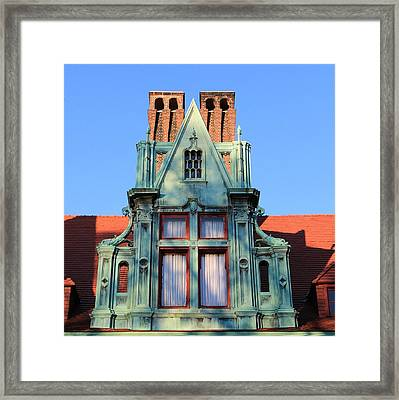 Keeper Of The Past Framed Print