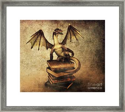 Keeper Of Wisdom Framed Print by Jutta Maria Pusl