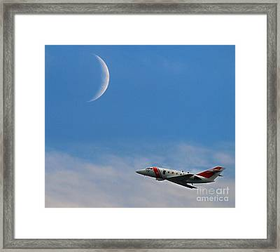 Keeping America Safe Framed Print by Raymond Earley