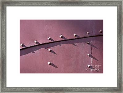 Keeping It Together Framed Print by Dan Holm
