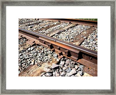 Keeping It Together Framed Print