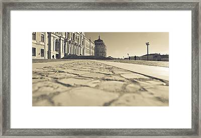 Keeping Low Searching High Framed Print