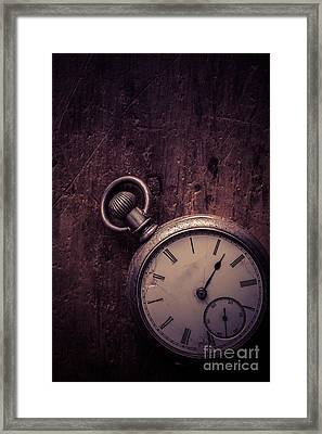 Keeping Time Framed Print by Edward Fielding