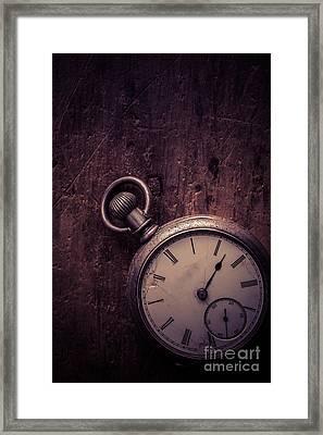 Keeping Time Framed Print