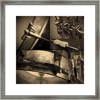 Keeping Time Framed Print
